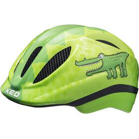 KED Meggy II Trend Helmet Kids Green Croco